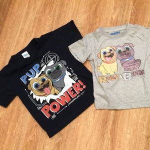 Puppy Dog Pal Tee-Shirts (2), Size 3T